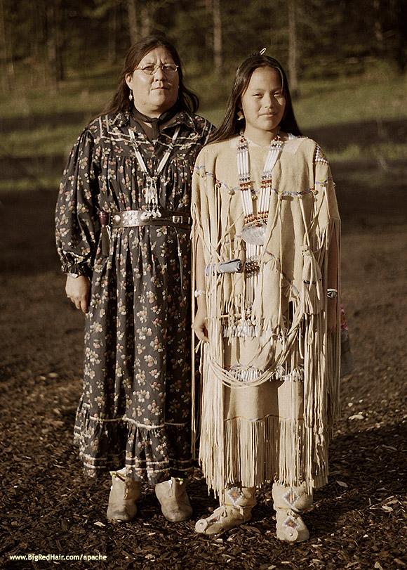White Painted Woman Mescalero Apache