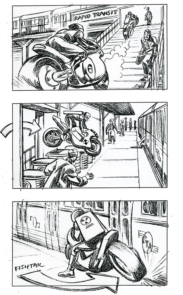 Storyboards By Paul Guinan